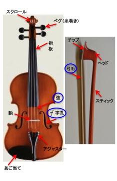 優美な音色「愛しきヴァイオリン」のピンとキリ