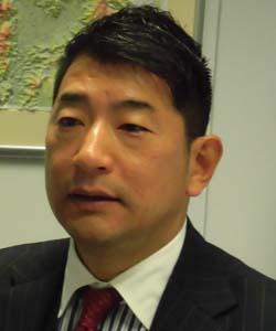 代表取締役社長 西山和輔氏