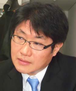 代表取締役社長 住田嘉久氏