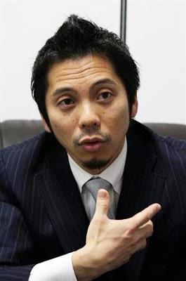 堀江泰代表取締役
