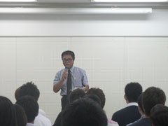 静岡県産業振興財団 革新支援グループ 長井マネージャー(開会の挨拶)