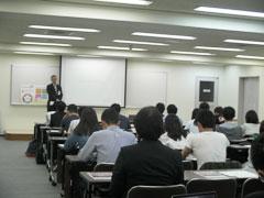 埼玉縣信用金庫・浦和支店で開催したキックオフの様子
