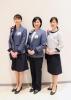 全国ショールームアドバイザーの制服を4月5日より一新! 気品と清潔感あふれる12種類の着回し