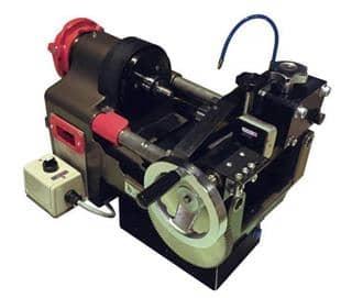 コーン&スレッド加工マシン コンパクト設計で取り付けも容易