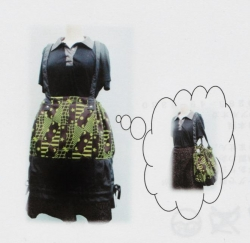 「bag to the skirt」を開発