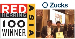 Zucks、「2016 Red Herring Top 100 Asia Winner」を受賞