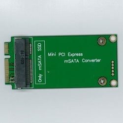 Mini PCI Expres to mSATA SSD 変換アダプタ