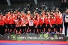 皆川博恵選手が代表として出場した「女子レスリングワールドカップ」で 日本チームが金メダルを獲得!